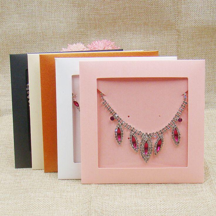 20 ШТ. розовый/белый/черный/orang/бежевый цвет конфеты коробка бумаги, ювелирные колье дисплей мешки свадебные приглашения карты случае купить на AliExpress
