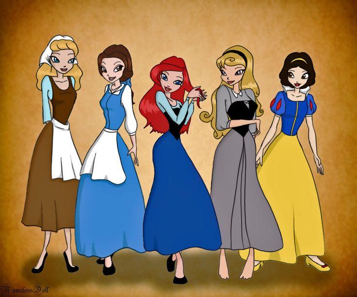 Princesses winx style by namelessdoll on deviantart princesses disney pixar disney - Princesse winx ...