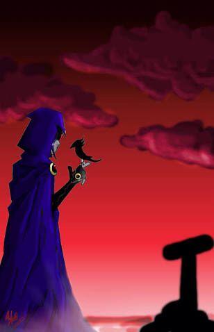 Foto de cuervo titanes adolescentes