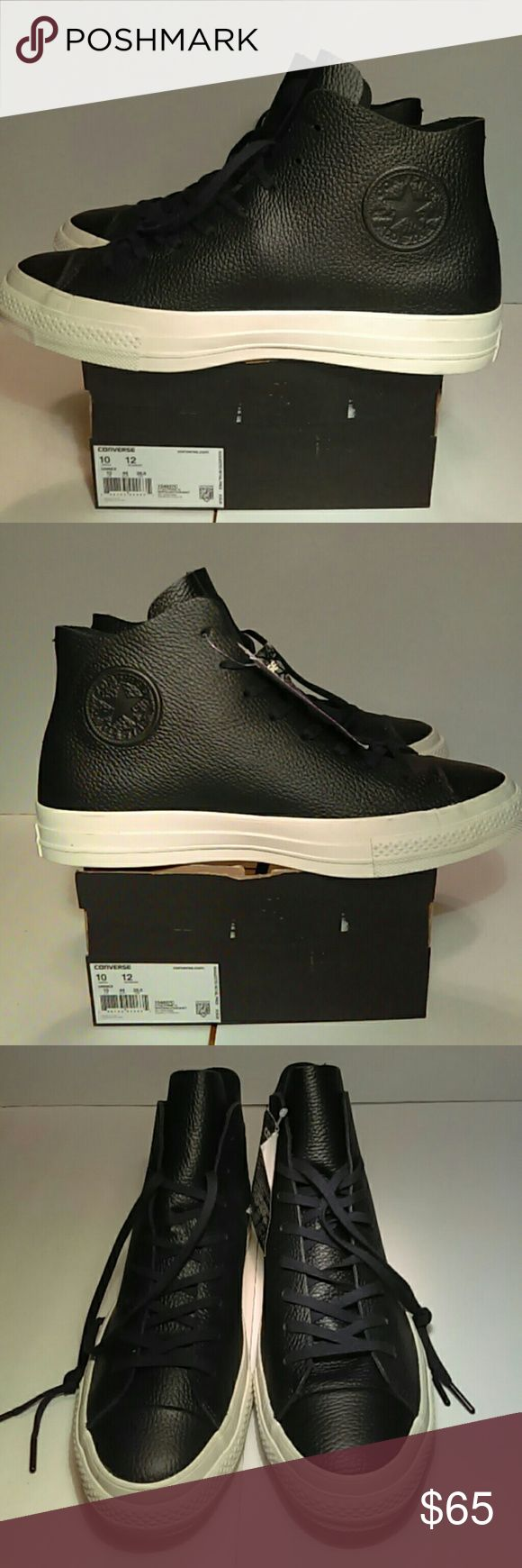 BRAND NEW CONVERSE LEATHER  MEN'S SNEAKER 100% AUTHENTIC CONVERSE  LEATHER MEN'S SNEAKER UNISEX MEN'S: 10. WMN : 12 ORIGINAL PRICE $ 135 REASONABLE. OFFER IS. WELCOMED Converse Shoes Sneakers