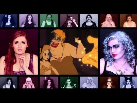 "▶ ""One Woman A Cappella Disney Medley pt. 2"" by @Heather Creswell Creswell Traska - YouTube"