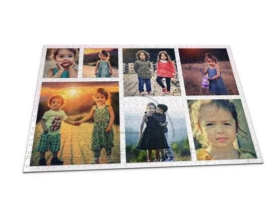 Un collage di foto per il tuo puzzle