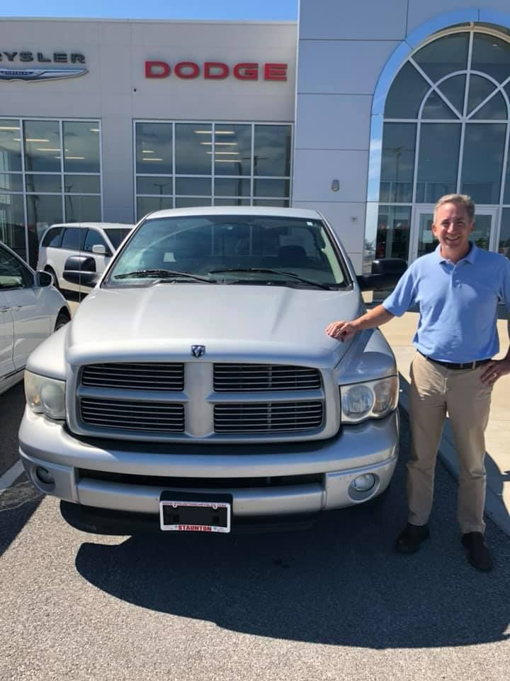Congratulations To Craig On Your Ram Drive Safe And Thank You