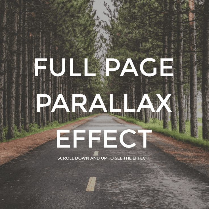 Full Page Parallax Scroll Effect Coding Code CSS CSS3 HTML HTML5 Javascript jQuery Parallax Resource Responsive SCSS Snippets Web Design Web Development