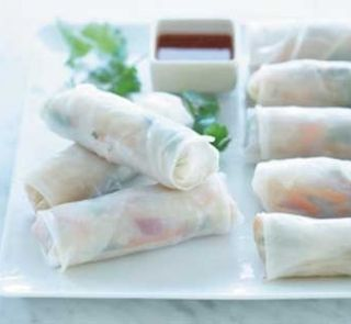 Vietnamese rice paper rolls | Healthy Food Guide