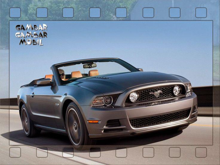 gambar mobil mustang gt
