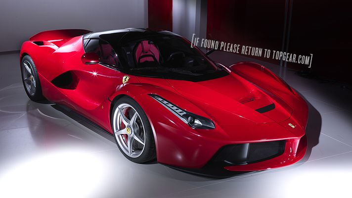 Exclusive to TopGear.com, first pictures of the sensational new Ferrari LaFerrari unveiled in Geneva