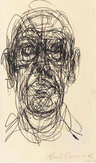 Alberto Giacometti (1901-1966) Tête d'homme