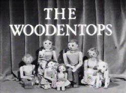 The Woodentops especially Spotty the dog - one of the first tv programmes I ever watched