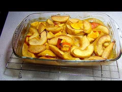 Mancare de gutui cu pui si portocale - Reteta video - Idealika