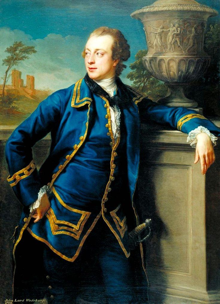 Pompeo Girolamo Batoni Portrait of John Wodehouse (1764)