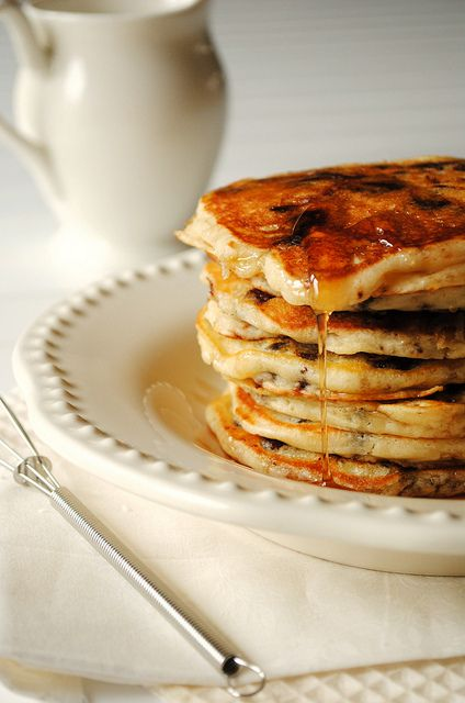 Chocolate Chip Pancakes ;)