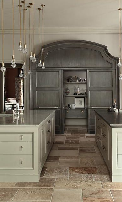 love the pantry and pendant mix.