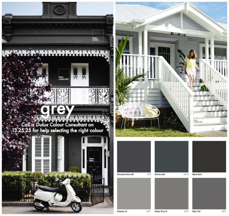 Grey House paint colours