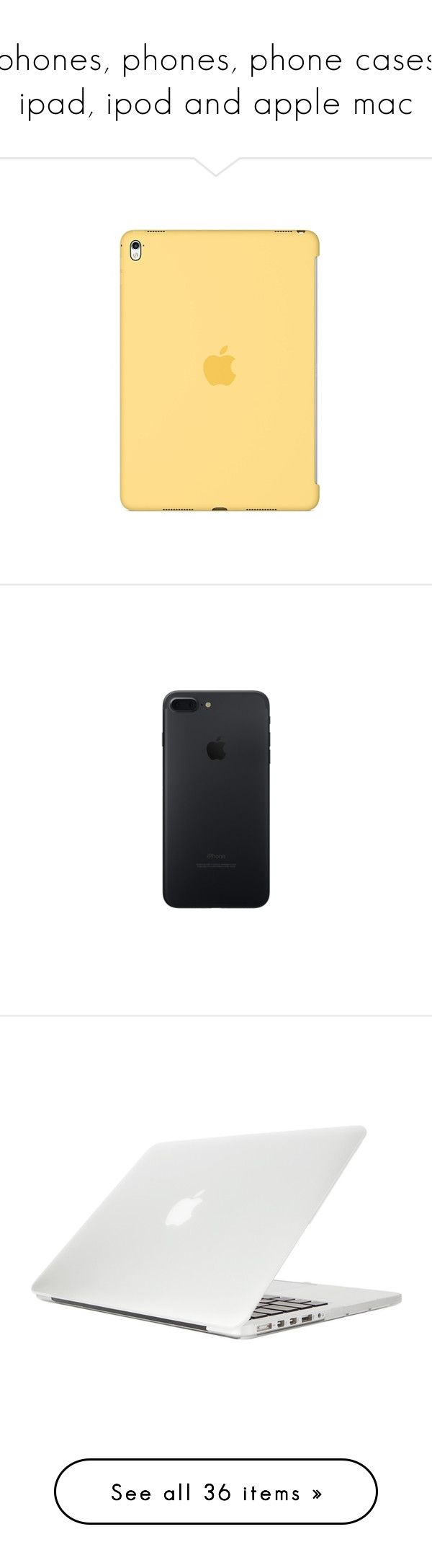 """""""iphones, phones, phone cases, ipad, ipod and apple mac"""" by geazybxtch24 ❤ liked on Polyvore featuring accessories, tech accessories, electronics, tech, men's fashion, men's accessories, men's tech accessories, no color, phone and phone cases"""