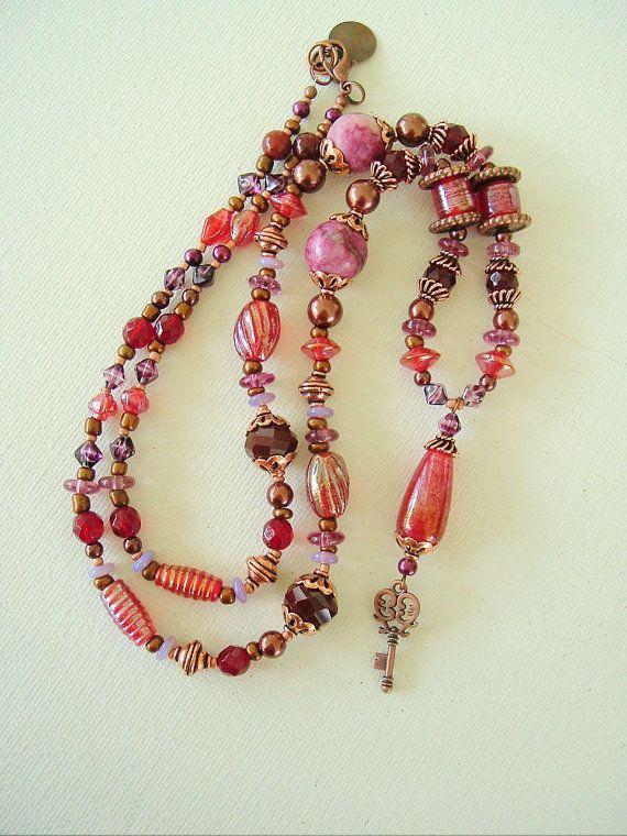 Boho Necklace Bohemian Jewelry Gypsy Gypsy Queen by BohoStyleMe