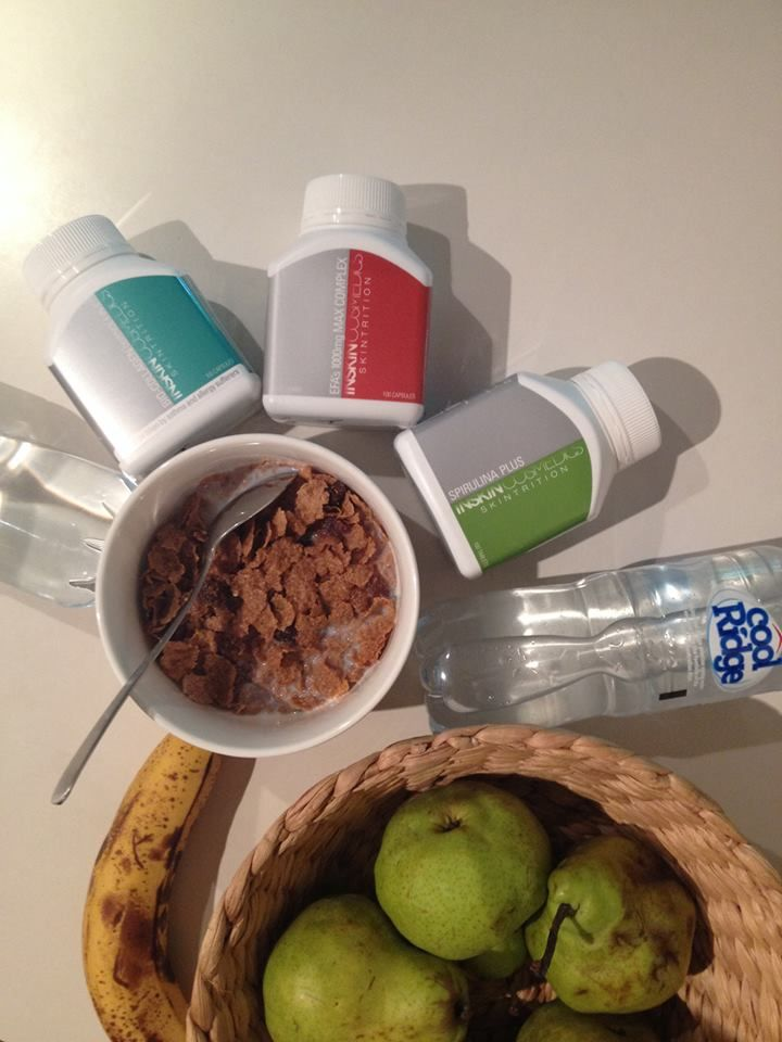 Skintrition supplements from Inskin cosmedics now available at In therapy.