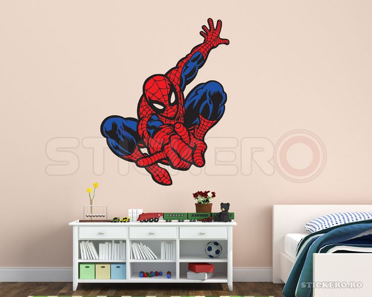 Spiderman - Omul paianjen - sticker imprimat