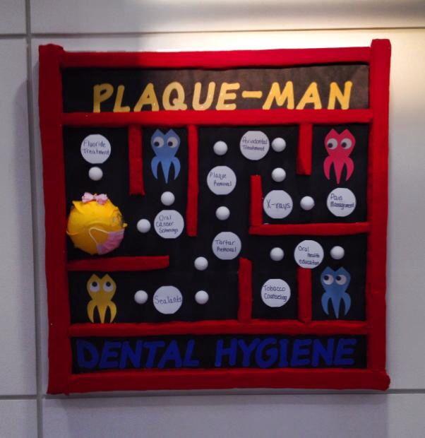 Dental hygiene bulletin board