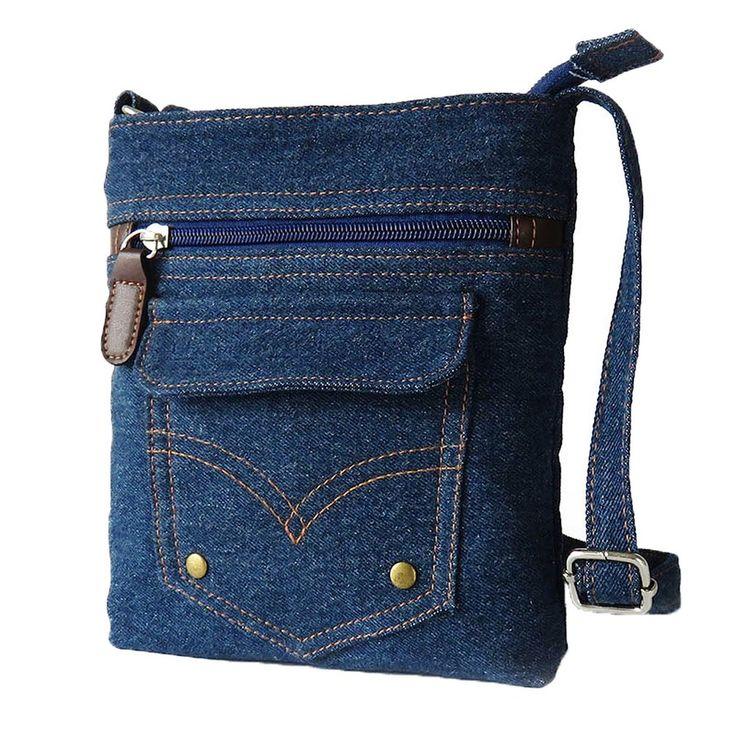 613 best denim bags images on Pinterest | Clutch bags Denim bag and Jean bag