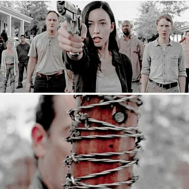 Rosita and everyone who made their own plans to try and beat Negan, were so dumb at this part in the episode. But the end of the episode was very heartbreaking. (But in a good way)