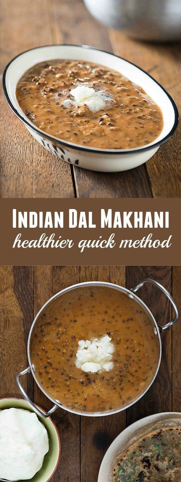Dal makhani is one of most popular dal recipe in India. A creamy, spicy and buttery dal preparation made with whole Black gram or sabut mah ki dal. The regular restaurant style dal makhani is made using lots of butter and cream, so I usually skip this on