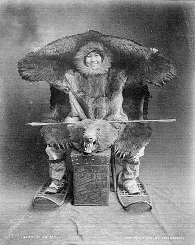 inuit bear chair