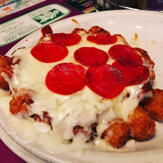 #PizzaTots #Toledo #Ohio #GoBlue lol