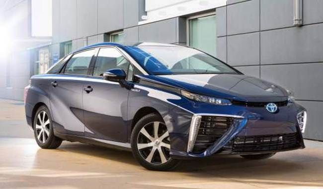 2017 Toyota Mirai Review - http://audirelease.com/2016/03/2017-toyota-mirai-review.html