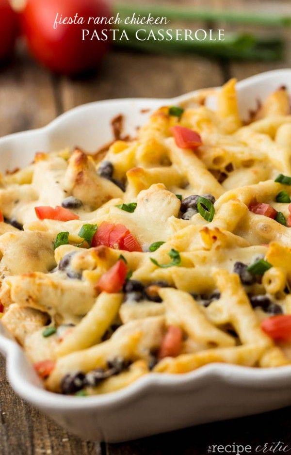 Chicken Pasta Casserole Recipe | Pasta-licious | Pinterest | Casserole ...