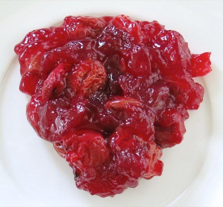 Homemade Evans Sour Cherry Pie Filling