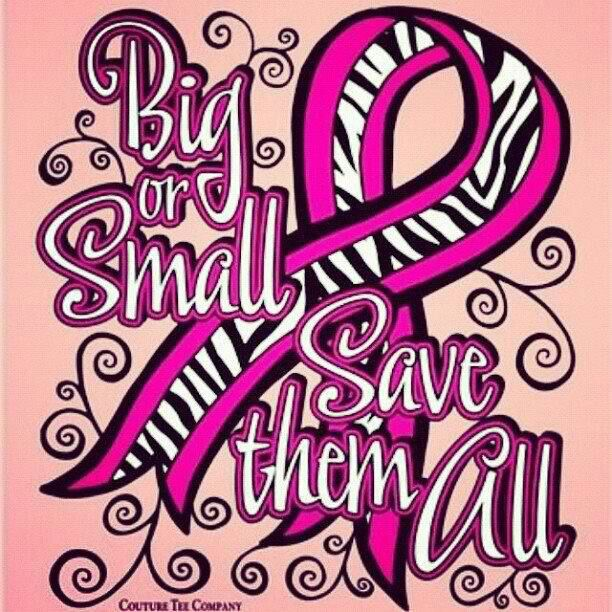 Big or small save them all (save the tatas)