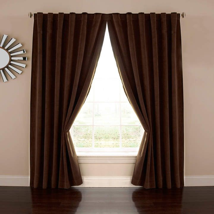 Eclipse Absolute Zero Bradley 100 Blackout Window Curtain Home Theater Curtains Curtains Black Blackout Curtains