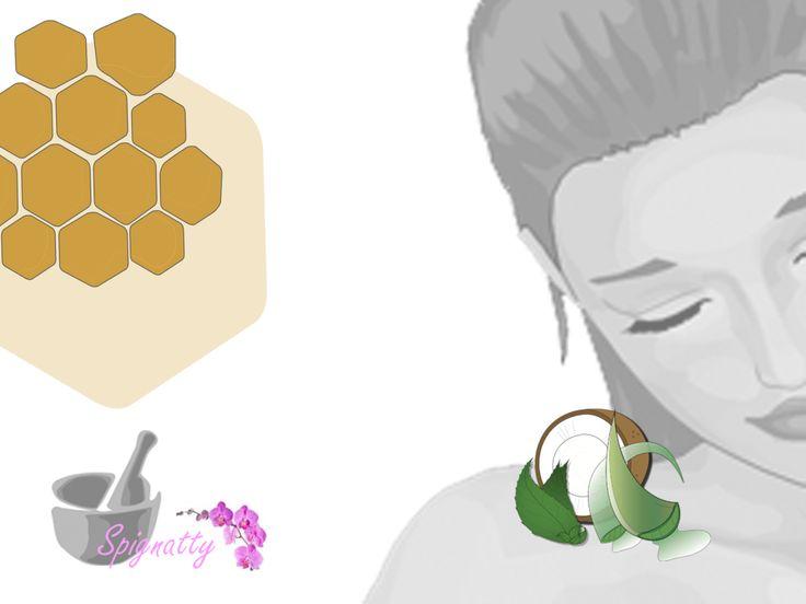 Scrub viso menta e cocco e Aloe Vera