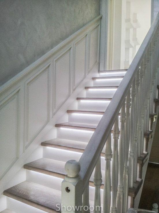 Boazeria angielska-7, fajnie podświetlone schody