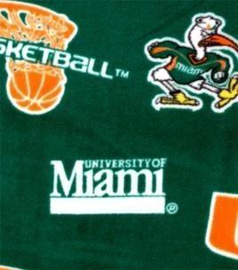 University of Miami (FL) Hurricanes Throw