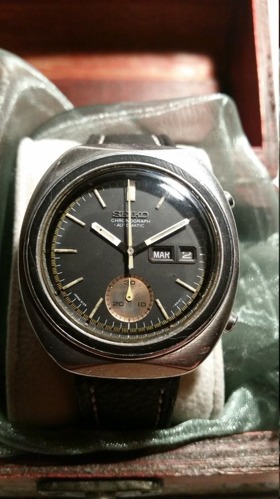 Vintage Seiko 8010-6139 Chronograph Watch by WilberforceWatches