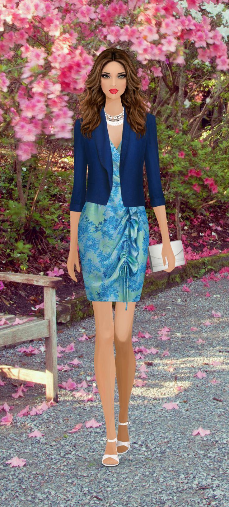 Magnolia Ball On Covet Fashion Game Fashionista Och Pinuppor Och Lady Figurine Pinterest