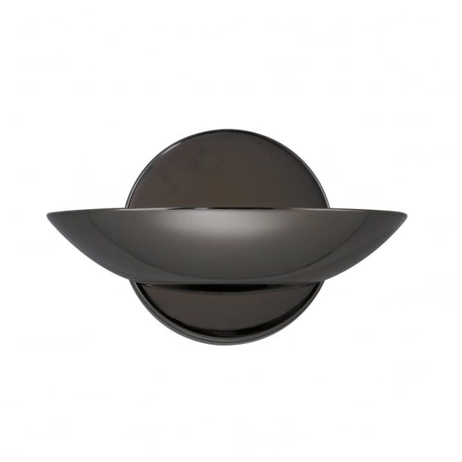 Black Chrome Wall Uplighter - Great for Modern Classic Settings