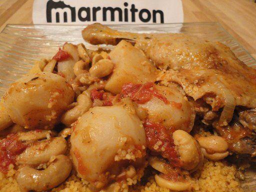 Tajine de canard aux navets : Recette de Tajine de canard aux navets - Marmiton
