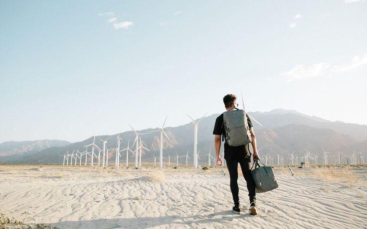 Incase EO Travel Duffel and Backpack.
