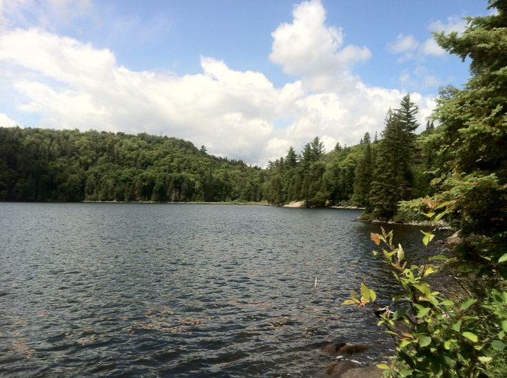 Dividing lake