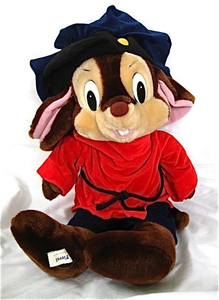 Large 1986 FIEVEL Mouse Plush An American Tail Doll #SearsCaltoy