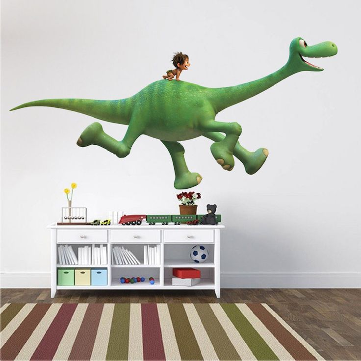 Best 20 dinosaur wall decals ideas on pinterest for Dinosaur mural ideas