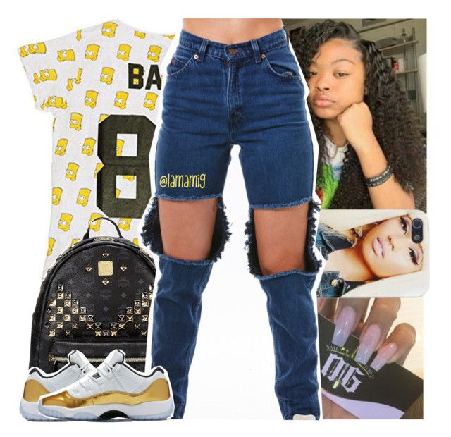 chance the rapper x no problem by lamamig on Polyvore featuring polyvore fashion style ElevenParis MCM clothing