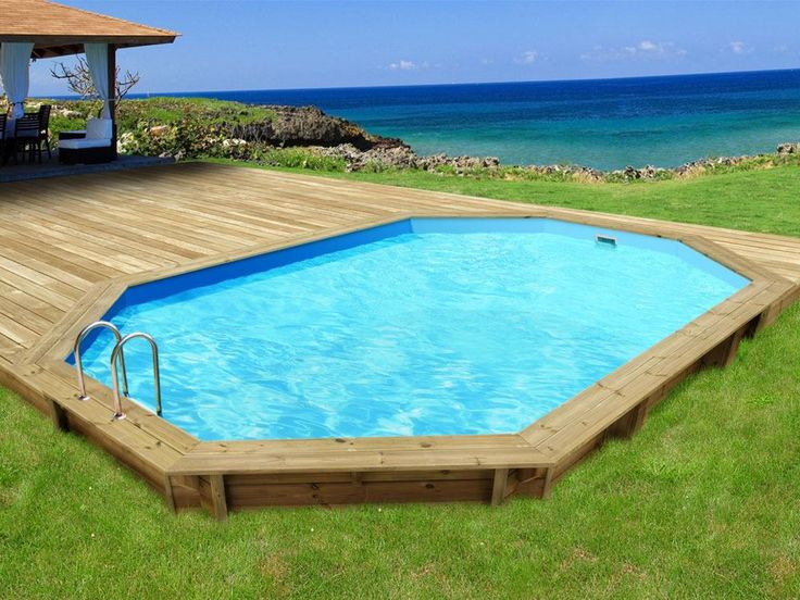 166 best promotion carrefour images on pinterest for Piscine bois carrefour