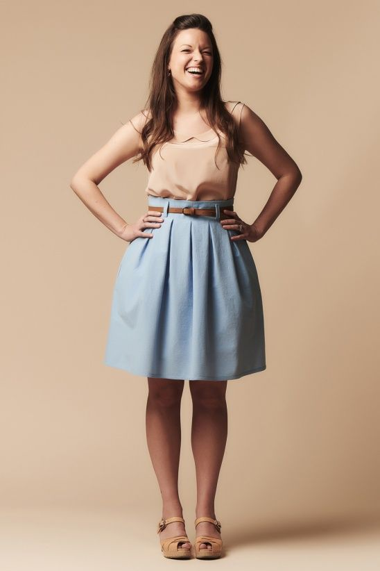 Chardon skirt by Deer and Doe | Project | Sewing / Skirts | Kollabora