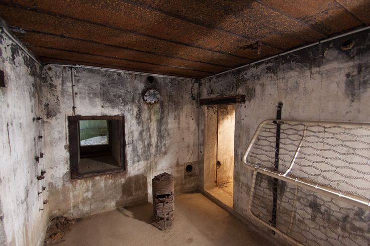 Interior of a German bunker at Juno Beach RenovationBootcamp.com