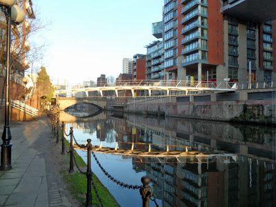 The Happy Pontist: Manchester Bridges: 22. Spinningfields Footbridge