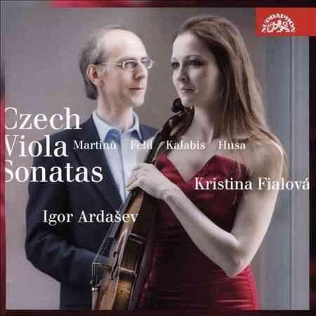 Kristina Fialova - Czech Viola Sonatas